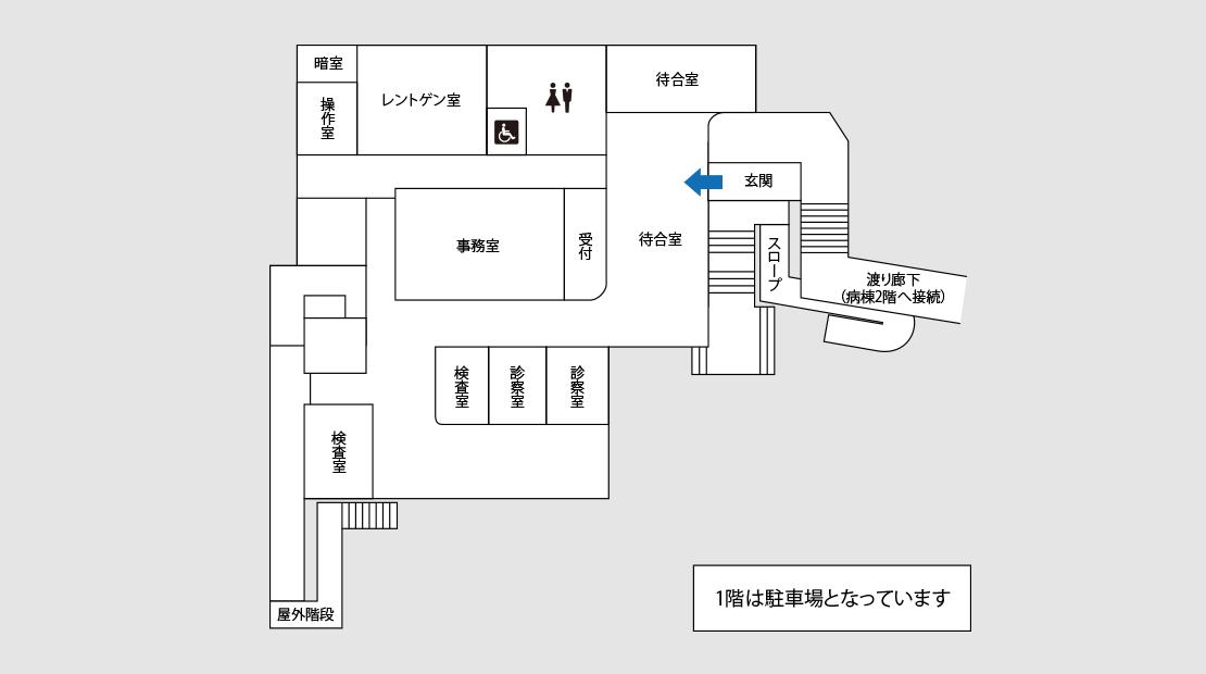 一般診察棟MAP